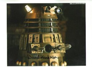 David Hankinson Dalek operator from Dr Who